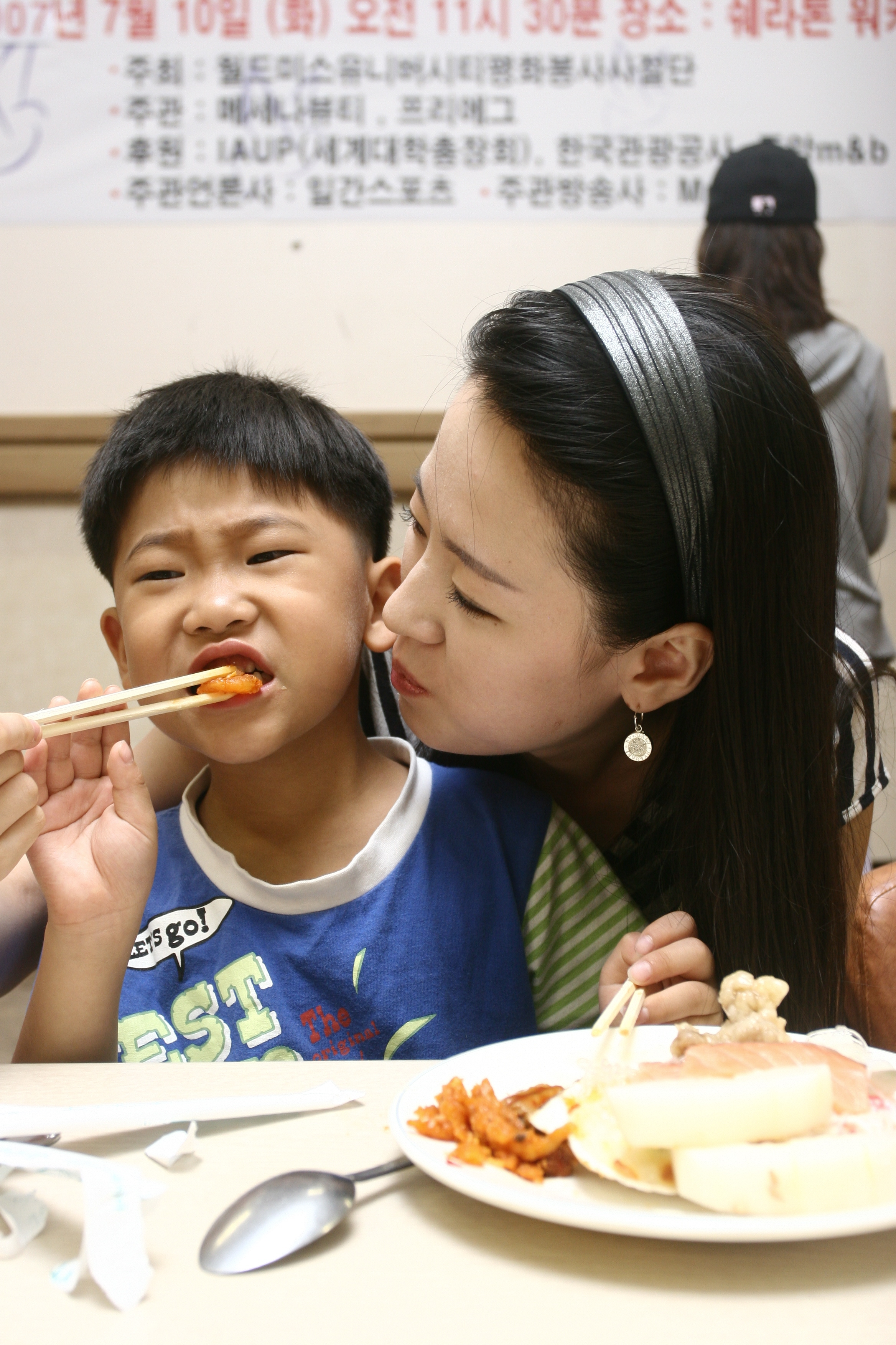 Visit the orphanage and dine together