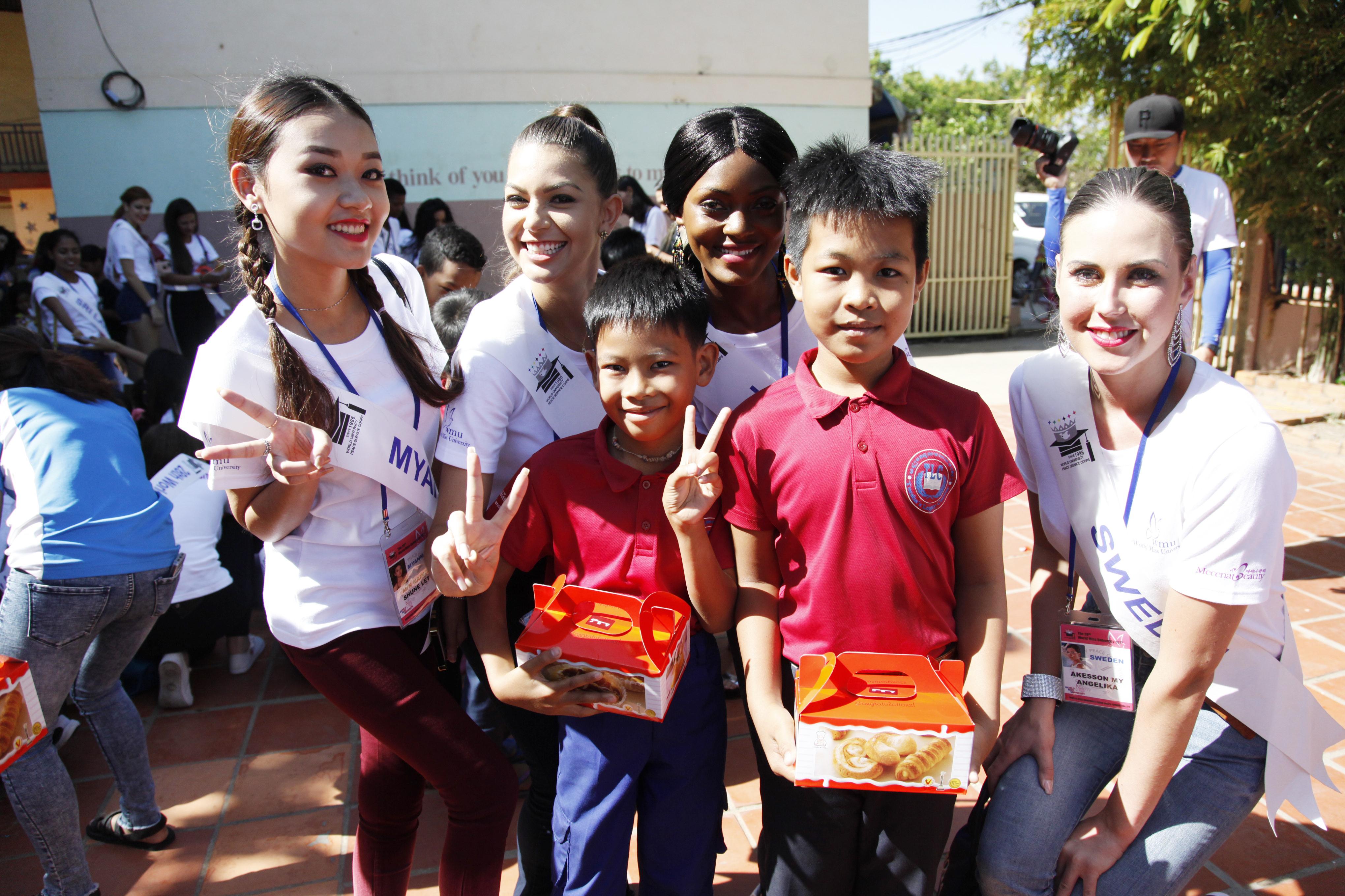 Orphanage volunteering